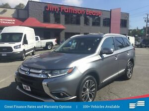 2016 Mitsubishi Outlander GT, NAV, Leather, Roof