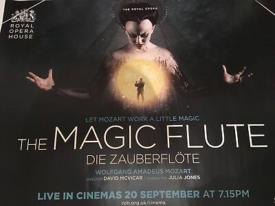 The Magic Flute ROH Live Original Uk Quad Cinema Poster