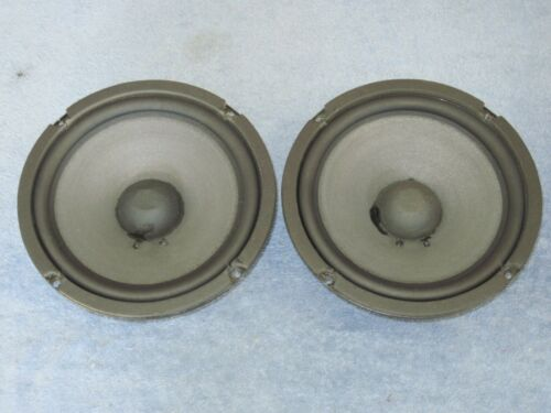 """Pair S-80877 8"""" WOOFERS from Infinity Qe Speakers"""