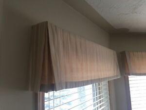 Window coverings / treatments.  Free