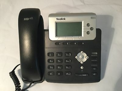 5 x Yealink SIP T22P Telephones Phones - No power supply