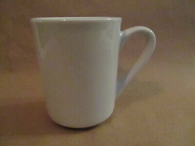 Tuxton Blank White Ceramic Coffee Cup Mug Gloss 8 Oz Sublimation Personalization