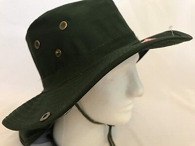 e5f3366a Boonie Hat Fishing Army Military Hiking Snap Brim Neck Cover Bucket Sun Flap  Cap