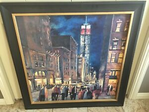 Print - New York Night by Didier Lourenco