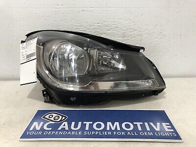 2012-2014 Mercedes Benz C Class C250 Coupe Headlight Right RH Halogen OEM A28