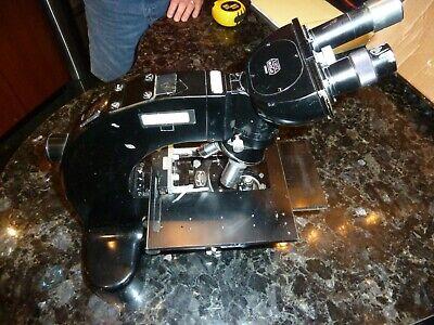 E. Leitzwetzlar Ortholux Research Microscope