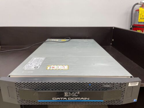 EMC Data Domain DD2500 Storage Array Deduplication E5-2660 32GB No Hard Drive