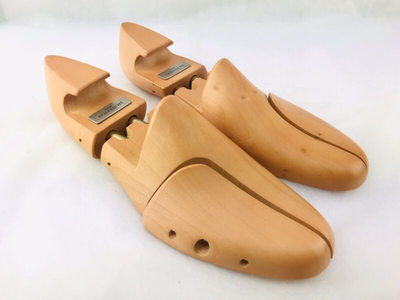JM WESTON Dress Shoe Last Mens Size 041M Stretcher Form Wood Shoe Storage Mold