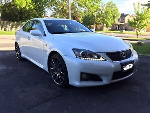 2012 Lexus ISF *Low mileage, no accident, excellent condition*
