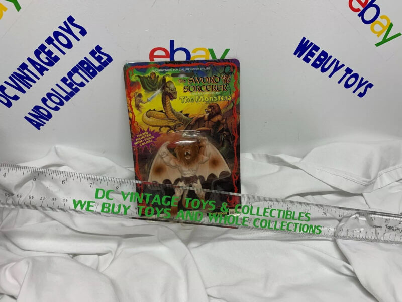 Vintage 1983 Fleetwood The Sword and the Sorcerer THE MONSTERS