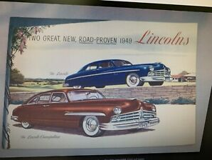 1949 Lincoln 4 door suicide doors