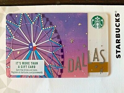 RARE 2016 Starbucks LAS VEGAS City card No swipes,pin intact
