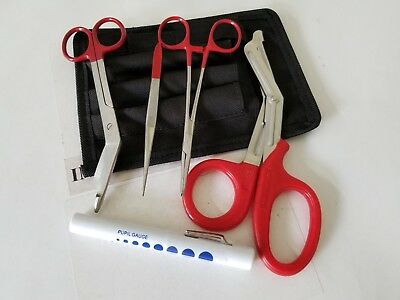 Colormed Holster Set Ems Emt Diagnostic Surgical Instruments
