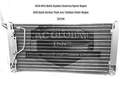 70 71 72 BUICK Skylark Special LeSabre AC Condenser A/C OEM 3021843 AC1240