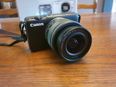 Canon EOS M10 18.0 MP Digital Camera Kit with EF-M 18-55mm f/3.5-5.6 STM Lens