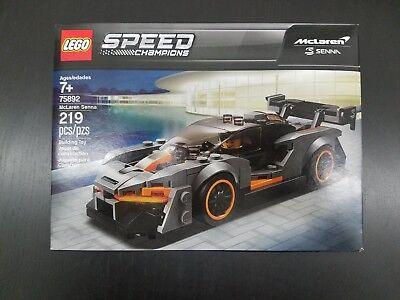 LEGO SPEED CHAMPIONS New 75892 McLaren Senna Ships New Rare