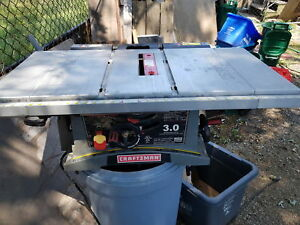 Craftsman parts tablesaw