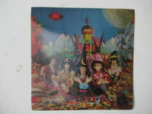 """ROLLING STONES 1967 """"SATANIC MAJESTIES REQUEST"""" LENTICULAR COVER 14""""x 14"""" RARE!"""