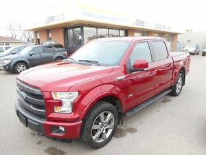 2015 Ford F-150 Lariat EcoBoost *4x4*Leather