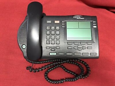 Lot Of 5 Multi Line Phone Nortel Meridian M3904 Ntmn34ga70 Business Office