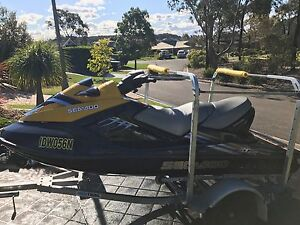 09 SeaDoo RXT Supercharged Jetski - Complete Fun Package - Extras Mount Annan Camden Area Preview