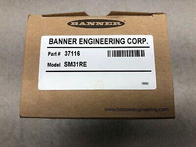 New In Box Banner Mini-beam Infrared Sensor Emitter Receiver Kit 37116 Sm31r