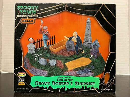 LEMAX  Spooky Town Grave Robber