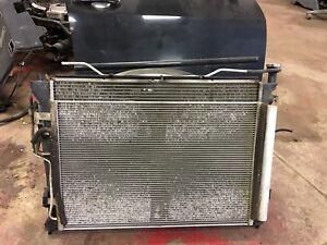2009 Hyundai Elantra Complet radiator and condenser