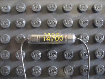 10 x 14.7K Ohms NOS Western Electric 1/2 Watt Metal Film Resistors!