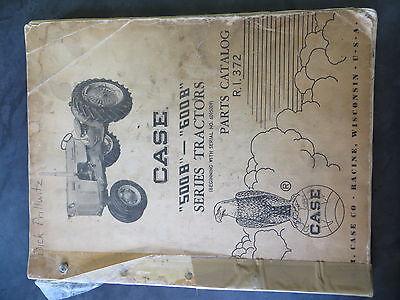 Case 500b 600b Tractors Parts Catalog