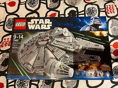 Lego Star Wars Millennium Falcon (7965) New In Sealed Box Retired