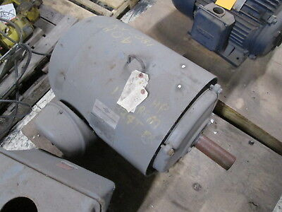 Lincoln Ac Motor 40hp 1800rpm Fr 324t 230460v 9849a Used