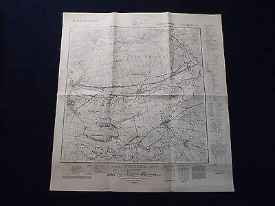 Landkarte Meßtischblatt 3161 Driesen (Ost) / Drezdenko, Kreis Friedeberg, 1941