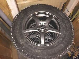Winter tires, from Toyota Venza on alloy rims. Price Reduced!