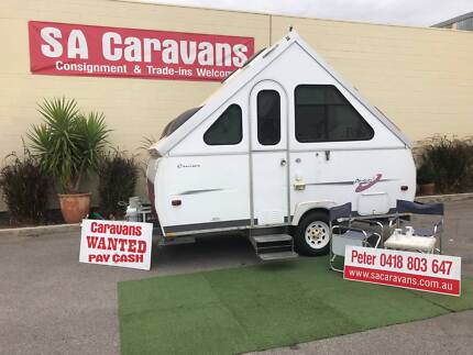 AVAN CRUISER 12' CAMPER TRAILER with AIR CONDITIONING Klemzig Port Adelaide Area Preview