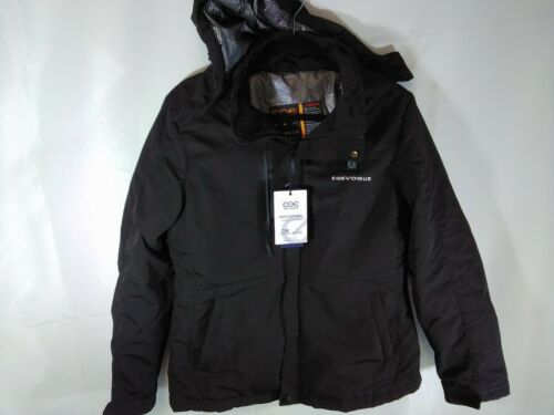 EGE Egevogue Women's US M Heated Softshell Jacket Black