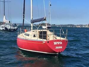 Carter 30 sailing sloop Elizabeth Bay Inner Sydney Preview