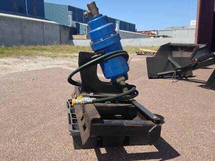 Skid Steer S4 3500 Auger Drive with Mount + Hoses and Couplings Canning Vale Canning Area Preview