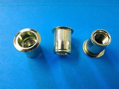 Rivet Nuts 38-16 Steel 25pc Buy 3 Or More 10 Rebate Rivnut Riv Nut Nutsert