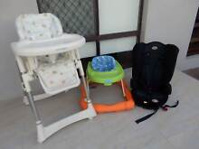 Baby stuff,high hair,walker,carseat,no longer needed,$30 the lot Ferndale Canning Area Preview