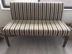 Beautiful Upholstered Bench - Dining or Entranceway