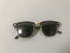 6dbb0eee1fe Men s Authentic Clubmaster Ray Bans
