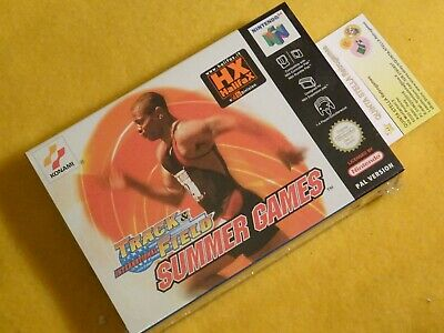 INTERNATIONAL TRACK & FIELD SUMMER GAMES NINTENDO 64 N64 PAL VERSION NEU RARE e