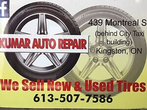 USED TIRES & FULL SERVICE LICENSED AUTOMOTIVE SHOP