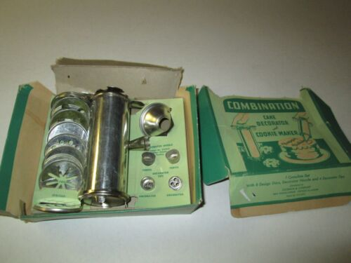 Vintage Zachman Combination Cake Decorator and Cookie Maker