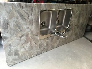 2 pieces of kitchen countertop