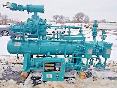 Frick Rwb Ii 60 H Rotary Screw Compressor Package R-717 Ammonia 130 Ton