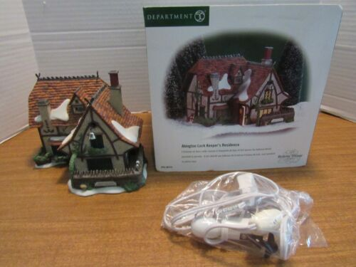 Dept. 56 Dickens Village Series 2000 Abington Lock Keeper