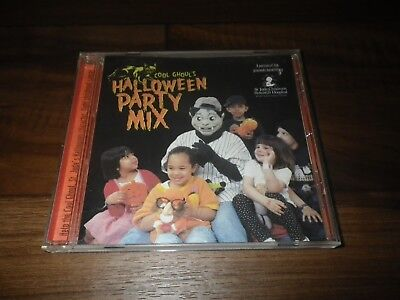 Cool Ghoul's Monster Party Mix by Various Artists (CD, Sep-1998) Halloween](Halloween Rock Music Mix)
