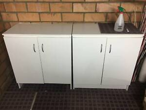 Cabinets x 2